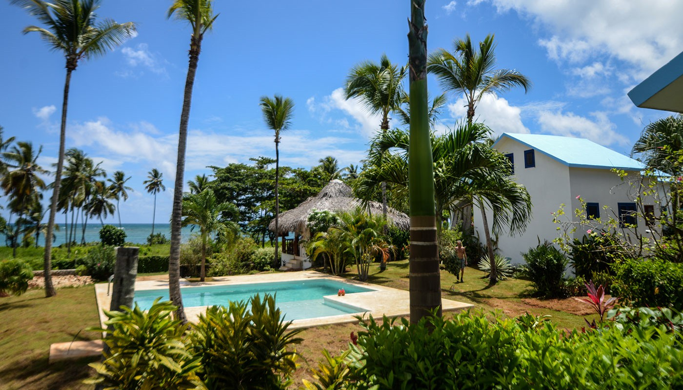 Best Oceanfront Aparthotel for your vacation in Las Galeras.