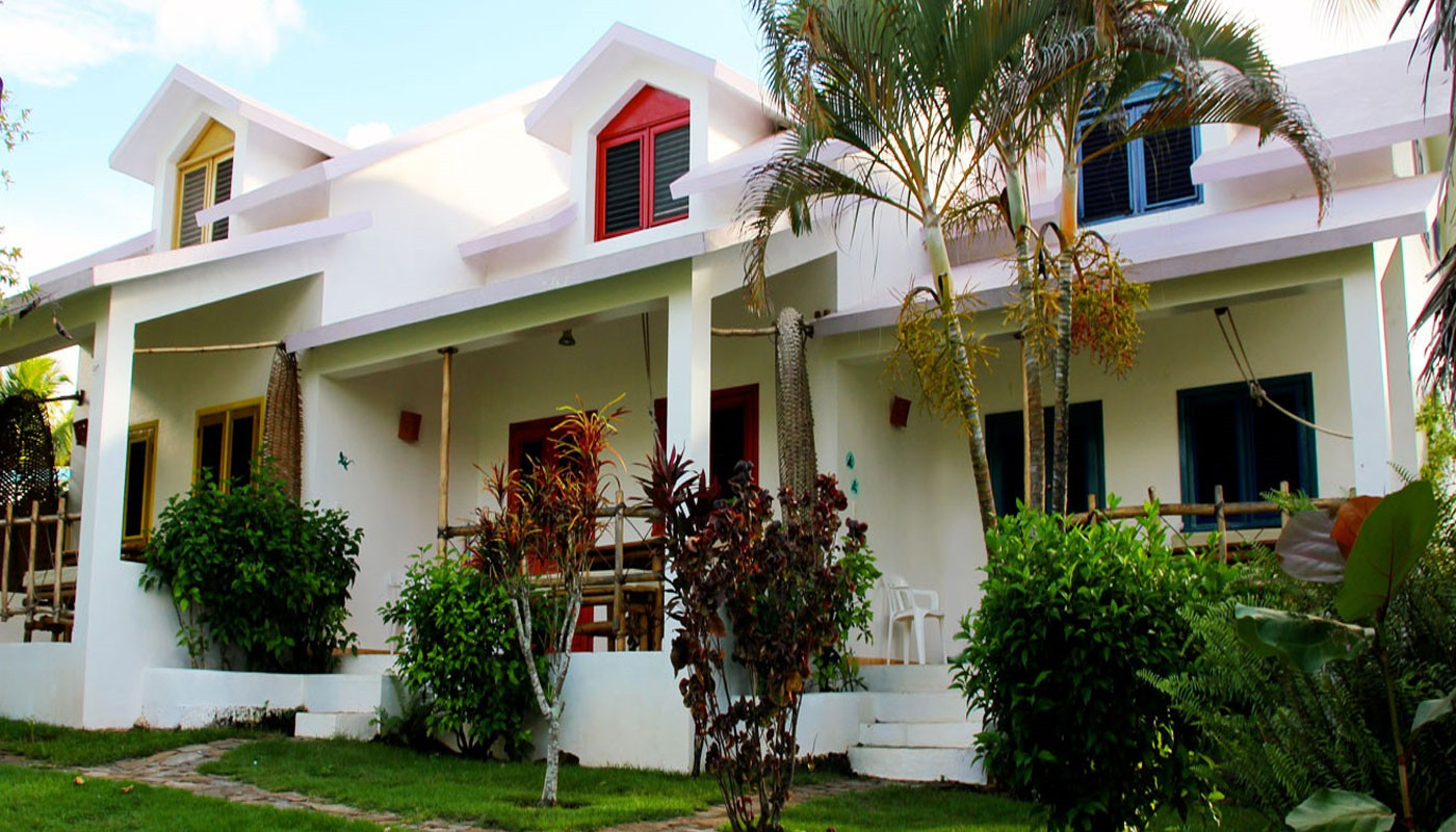 Oceanfront Vacation Rentals in downtown Las Galeras next to the beach.